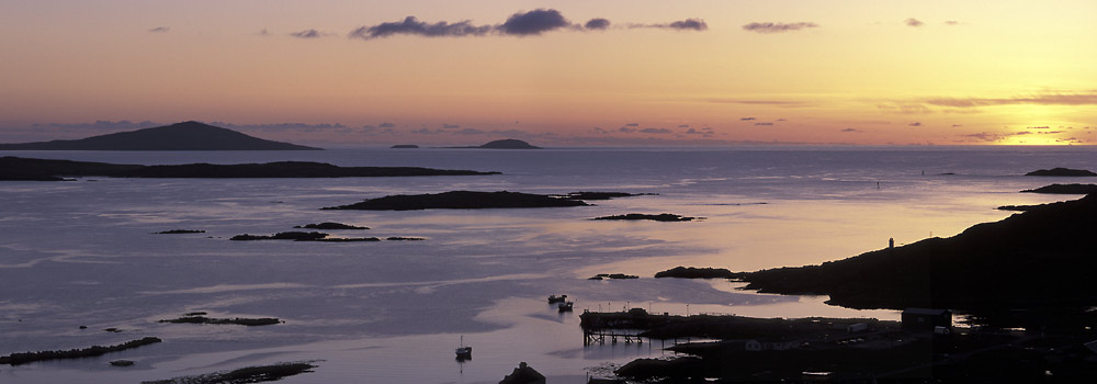Its Over >> Leverburgh & Sound of Harris Sunset